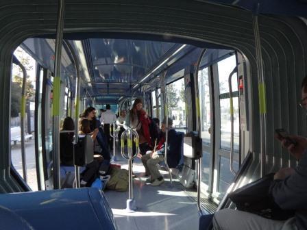 Иерусалимский трамвай глазами